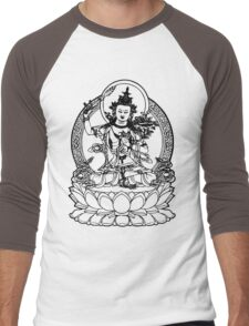 Buddha with Sword on Lotus t-shirt Men's Baseball ¾ T-Shirt