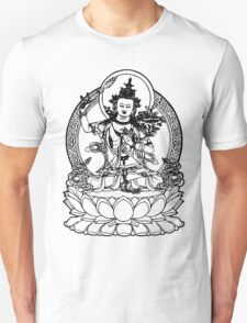 Buddha with Sword on Lotus t-shirt Unisex T-Shirt