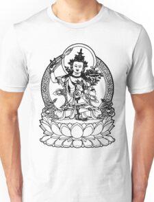 Buddha with Sword on Lotus t-shirt Unisex T-Shirt