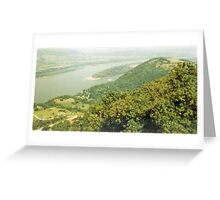 Two Nations, One River Greeting Card