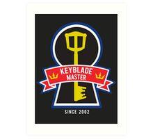 Keyblade Master Art Print