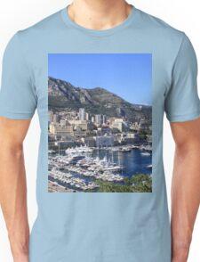 a colourful Monaco landscape Unisex T-Shirt