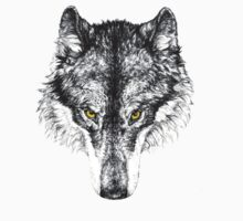 Gray Wolf Kids Tee