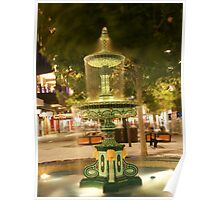 Fountain in Rundle Mall Poster