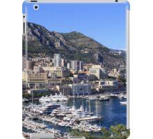 a colourful Monaco landscape iPad Case/Skin