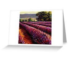 French Provençal Lavender Afternoon Greeting Card