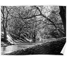 Bluegrass Creek River Poster