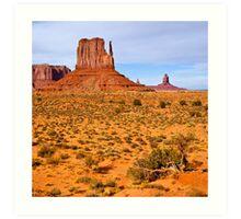 Monument Valley Scene Art Print