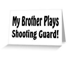 Basketbal Greeting Card