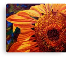 Sunlight on the Sunflower Canvas Print