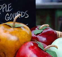 Apple Gourds by Gregg Lowrimore