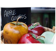 Apple Gourds Poster