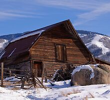Steamboat Barn, Daytime Icon by Gregg Lowrimore