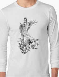 Quan Yin or Kwan Yin or Kuan Yin Long Sleeve T-Shirt