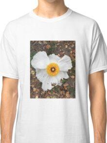 White flower Classic T-Shirt