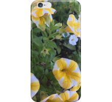 Yellow and white flowers iPhone Case/Skin