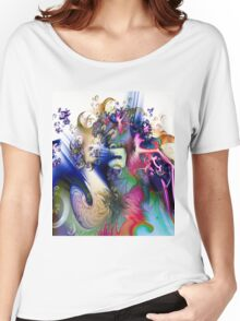 Sculpting the Abstract Women's Relaxed Fit T-Shirt