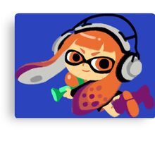 Inkling Girl Canvas Print