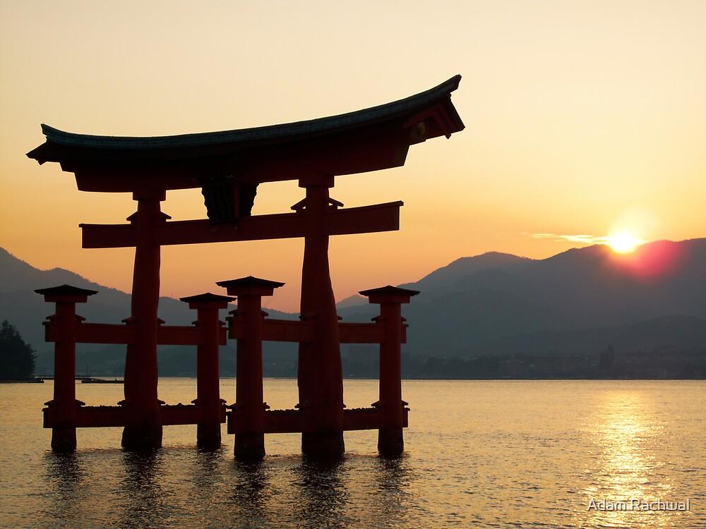 Miyajima Sunset - Itsukushima Shrine by Adam Rachwal