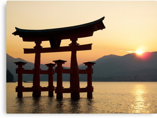 Miyajima Sunset - Itsukushima Shrine by Adam Rachwal