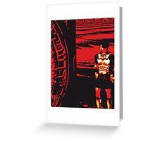 The last centurion Greeting Card