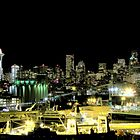 Seattle Night Shots #2 ~ Seattle, Washington  by lanebrain photography