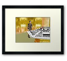 Imvu dr who Framed Print