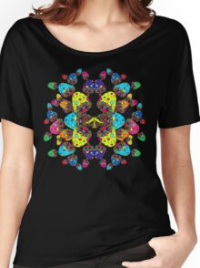 Mushroom Reflection Women's Relaxed Fit T-Shirt