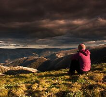 Watchin' the clouds roll away by bonsta