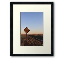Floodway Framed Print