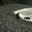 One man & his dog by Ben Breen