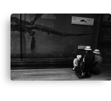 A family of explorers Canvas Print