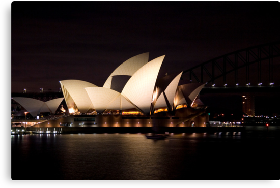 Sydney Opera House before dawn  by Martin Pot