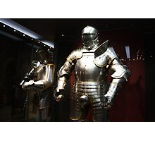 Henry VII Armour Photographic Print