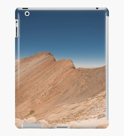glacier pass iPad Case/Skin