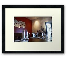 Alfonso's Restaurant Adelaide, South Australia Framed Print