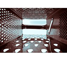 Grate Inside Photographic Print