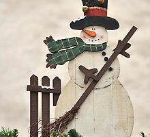 Snowman by Kasia Nowak