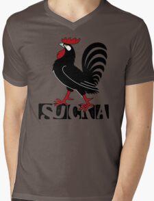 SUCKA Mens V-Neck T-Shirt