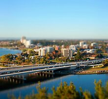 Narrows Bridge into South Perth by Martin Pot
