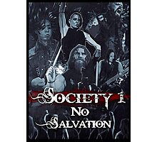 No Salvation Poster (Society 1 Inspired Comic) Photographic Print