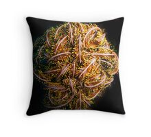 Feather Star Ball Throw Pillow