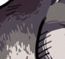 Gray Wolf Sticker
