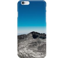 black rock pass iPhone Case/Skin