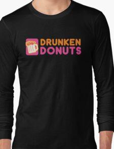 DRUNKEN DONUTS Long Sleeve T-Shirt
