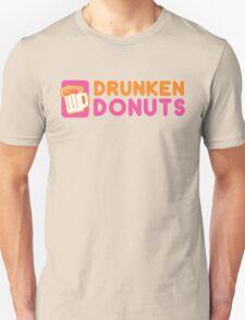 DRUNKEN DONUTS Unisex T-Shirt