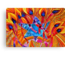 BIG LIGHT - FOR HANUKKAH Canvas Print