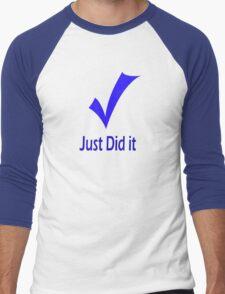 Just Did It - Tiger Men's Baseball ¾ T-Shirt