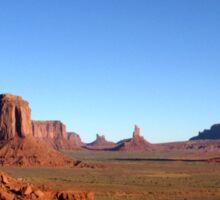 Magnificent Monument Valley, Arizona Sticker