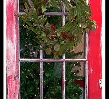 Country Christmas Welcome by Brenda Dow